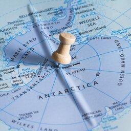 Poolgebieden op de kaart
