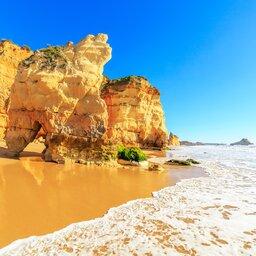Portugal - Praia da Rocha -  Portimao - Algarve region