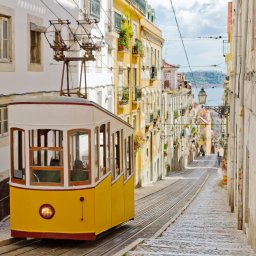 Portugal - Typische straat