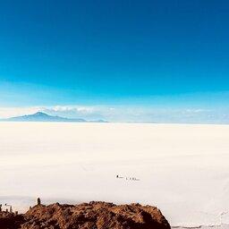 BOLIVIA SALAR DE UYUNI AERIAL