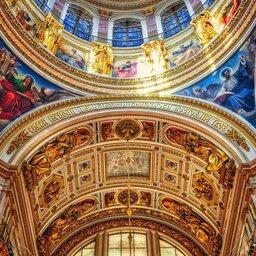Rusland-Sint-Petersburg-detail-koepel