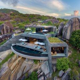Seychellen-Félicité-Six-Senses-Zil-Payson-design-hotelgebouw