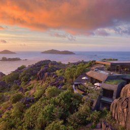 Seychellen-Félicité-Six-Senses-Zil-Payson-Seascape-zonsondergang
