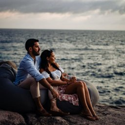 Seychellen-Mahé-Excursie-Cap Lazare Sunset Champagne on the Rocks (enkel redactioneel gebruik) (4)