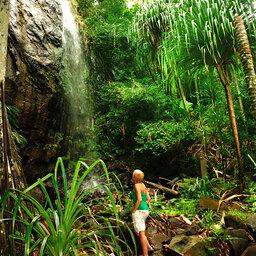 Seychellen-Mahé-Excursie-Vallee de Mai-Anse Lazio-3