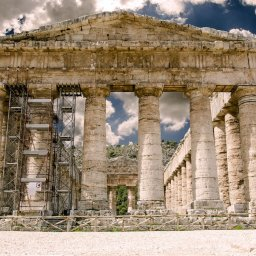 Sicilie-West-Sicilie-Segesta-streek-tempel-1