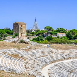 Sicilie-Zuidoost-Syracuse-streek-Grieks-theater