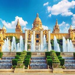 Spanje - National Museum - Barcelona - Placa De Espanya
