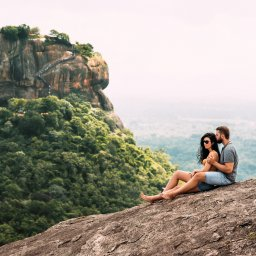 Sri-Lanka-Culturele-Driehoek-Excursie-Beklimming-Pidurangala-rock 7