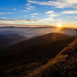 Sri Lanka-Horton Plains-hoogtepunt-Adams Peak zonsopgang