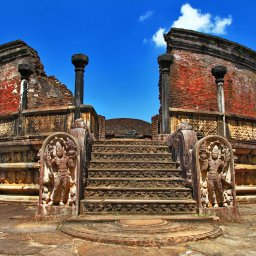 Sri Lanka-Polonnaruwa-hoogtepunt-ruine