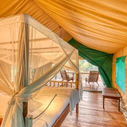 Tanzania-Katavi NP-Mbali-Mbali-Katavi-Lodge-tent-bed