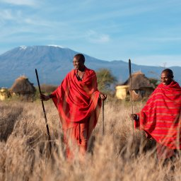 Tanzania-Mt Kilimanjaro en Masai