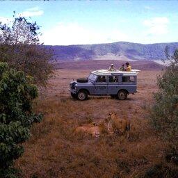 Tanzania-Ngorongoro krater-jeep