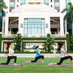 Thailand-Bangkok-Hotel-The-Peninsula-yoga