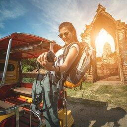 Thailand - Selfie - Ayutthaya
