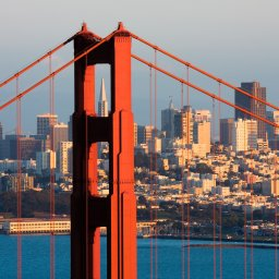 Verenigde staten - USA - VS - San Francisco - Golden gate Bridge (5)