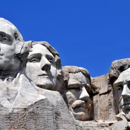 Verenigde staten - USA - VS - South Dakota - Black Hills - Mount Rushmore (1)