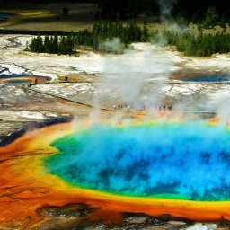 Verenigde staten - USA - VS - Wyoming - yellowstone national park (1)