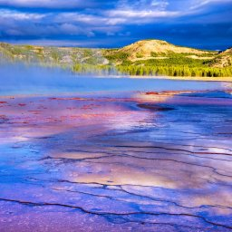 Verenigde staten - USA - VS - Wyoming - yellowstone national park (12)
