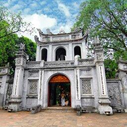 Vietnam-Hanoi-Tempel van de literatuur