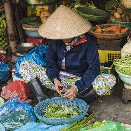 Vietnam-Hoi An-markt