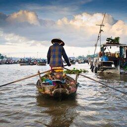 Vietnam-Mekong-bootjes
