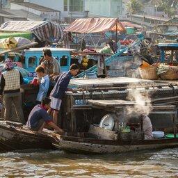 Vietnam-Mekong Delta-bootjes