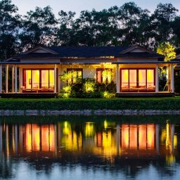 Vietnam-Mekongdelta-Azerai-Resort-Can-Tho-kamer-buitenaanzicht