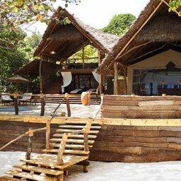 Zanzibar-Fundu Lagoon Pemba Island-hutje-exterieur