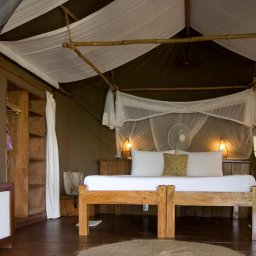 Zanzibar-Fundu Lagoon Pemba Island-kamer-bed