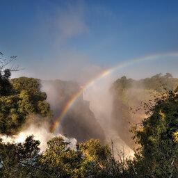 Zimbabwe - Victoria Falls regenboog