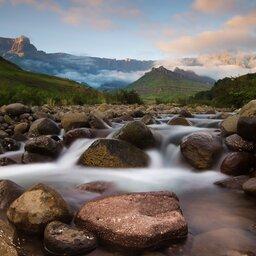 Zuid-Afrika-algemeen-rivier stroming