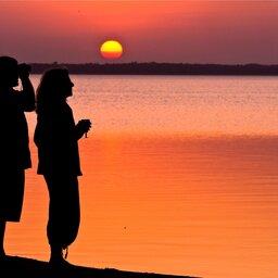 Zuid-Afrika-iSimangaliso-Wetland-thonga-beach-lodge-sundowner-2