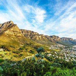 Zuid-Afrika-Kaapregio-hoogtepunt