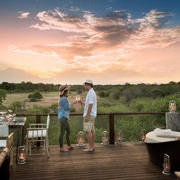 Zuid-Afrika-Kruger-Regio-Sabi-Sands-Lion-Sands-River-Lodge-koppel-zonsondergang