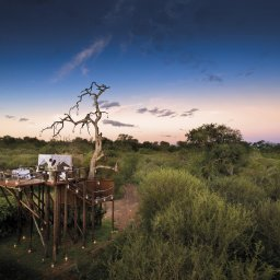 Zuid-Afrika-Kruger-Regio-Sabi-Sands-Lion-Sands-River-Lodge-zonsondergang