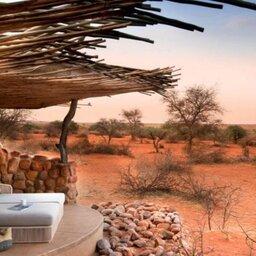 Zuid-Afrika-Tswalu-Kalahari-Private-reserve-the-motse-safarilodge-ligbed