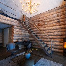 Zweden-Lapland-Arctic-Retreat-zomer-cabin-interieur 2