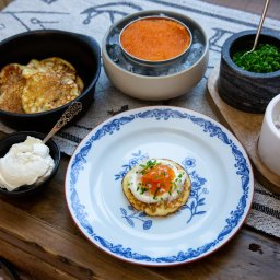 Zweden-Lapland-Harads-Loggers-Lodge-ontbijt