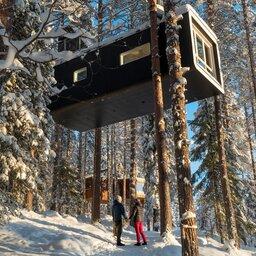 Zweden-Lapland-Harads-treehotel-johan-jansson-met-twee