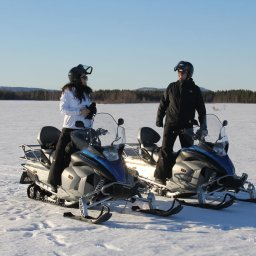 Zweden-Lapland-Harads-treehotel-johan-jansson-sneeuwscooter