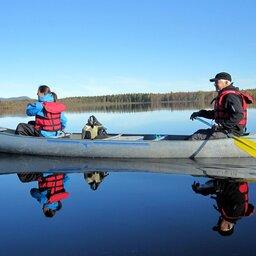 Zweden-Lapland-Harads-Treehotel-zomer-kano