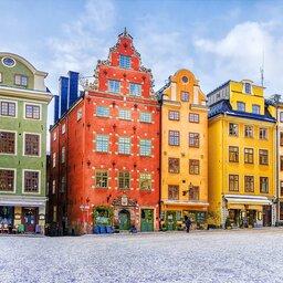 Zweden-Stockholm-Gamla-Stan-huizen