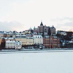 Zweden-Stockholm-Söder-Mälarstrand-winter 2